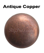 rg convex nailheads antique copper