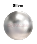 rg convex nailheads silver